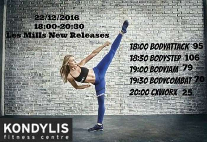 New Releases – Les Mills – Limassol Gym